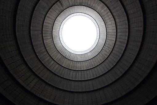 Belgium, Charlerois, Cooling, Tower