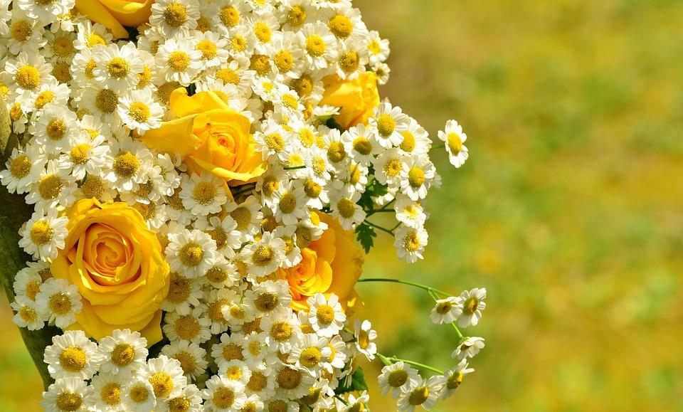 Ramo Rosas Amarillas Foto Gratis En Pixabay