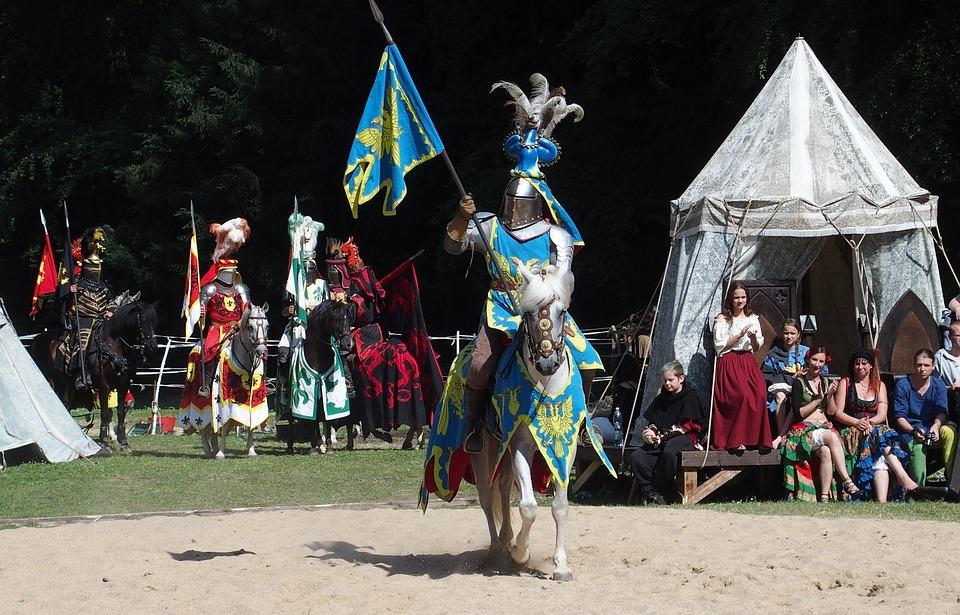 Ritter Mittelalter Turnier Kostenloses Foto Auf Pixabay