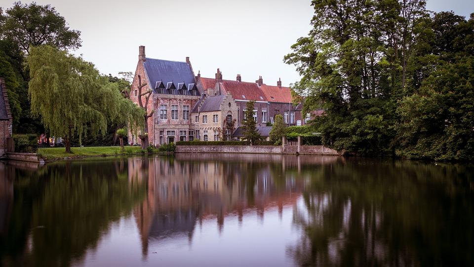 Bruges, Belgium, Romantic, Historically