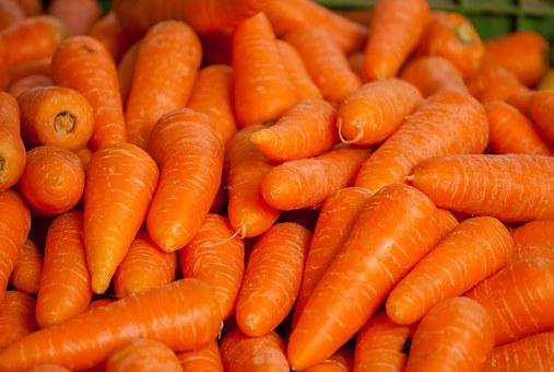 Carrots, Vegetables, Market
