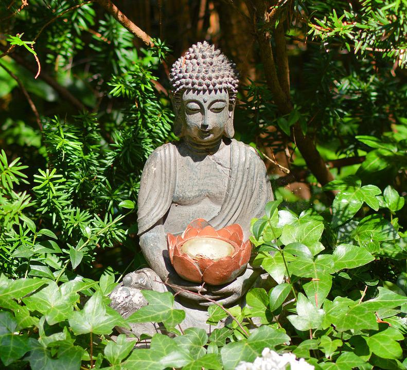 Buddha Buddha Statue Statue Garden Fountain