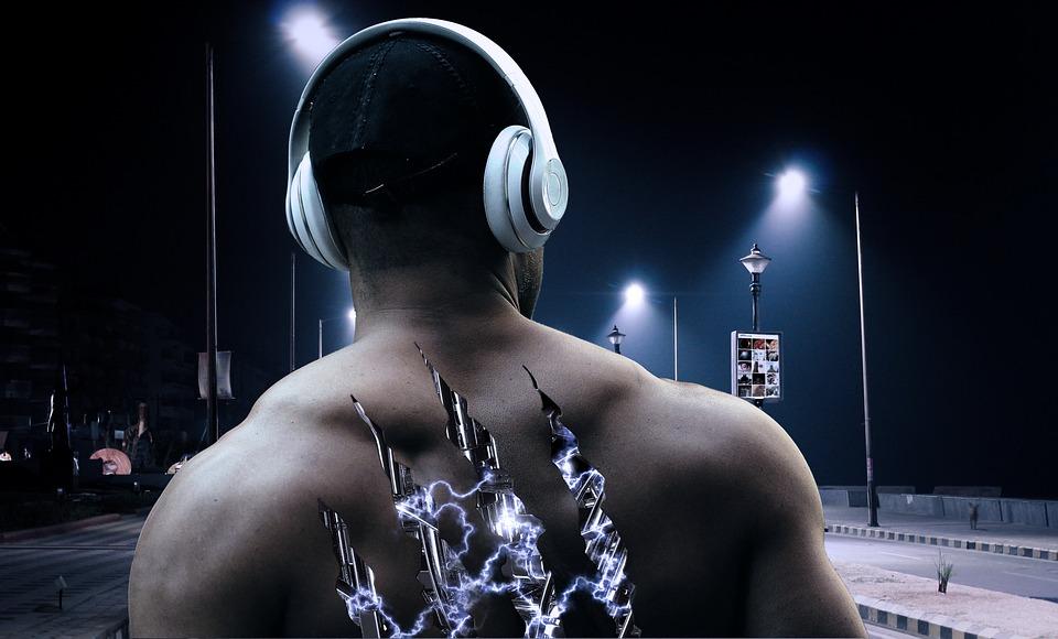 Hombre, Máquina, Robot, Electricidad, Biónica, Músculo