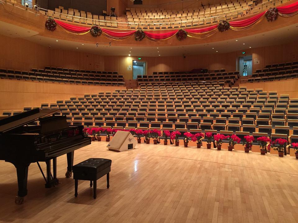 salle concert orange