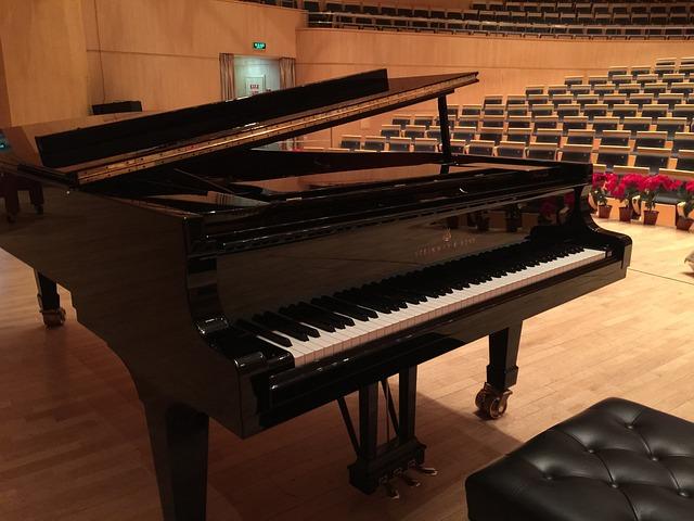 ピアノ コンサート ホール · Free photo on Pixabay