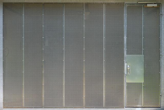 Steel Garage Door Texture free photo: garage door, steel grid, texture - free image on