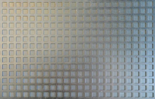 Photo gratuite feuille de zinc grille acier image for Prix d une feuille de zinc