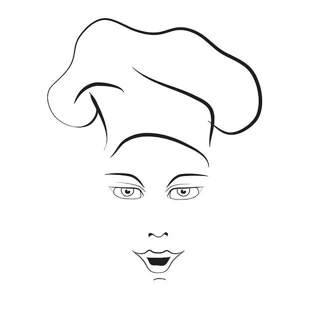 cuoco ragazza chef 183 grafica vettoriale gratuita su pixabay