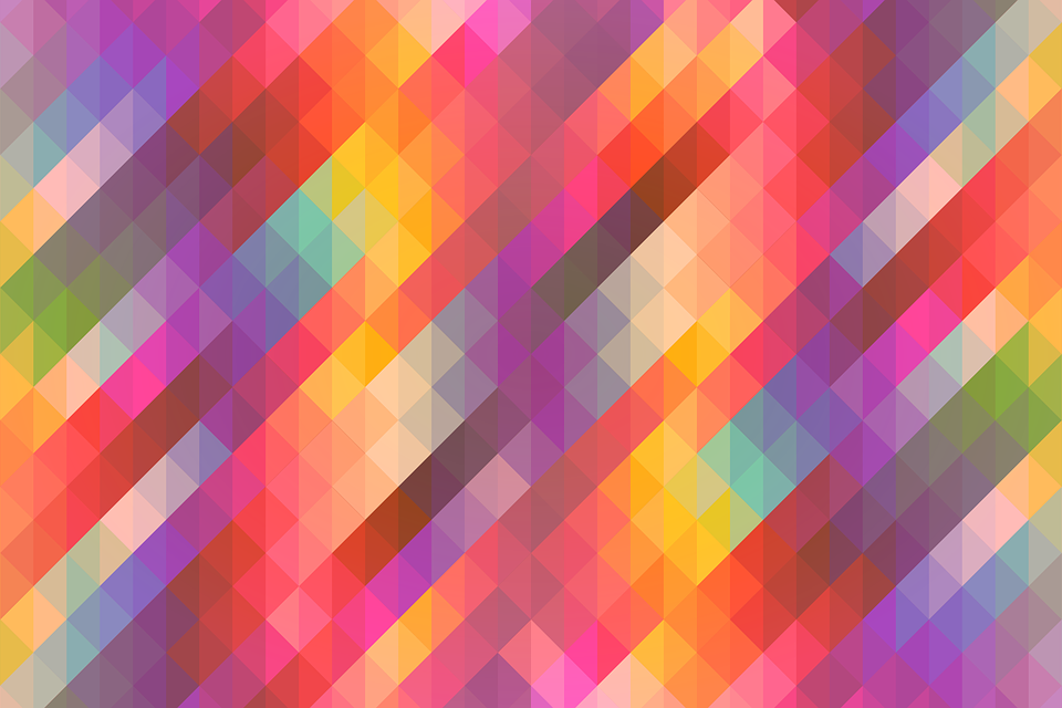 abstract geometric colorful background - photo #30