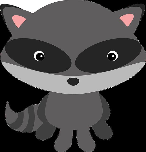 kostenlose vektorgrafik waschb r wald tier maskiert kostenloses bild auf pixabay 1510501. Black Bedroom Furniture Sets. Home Design Ideas