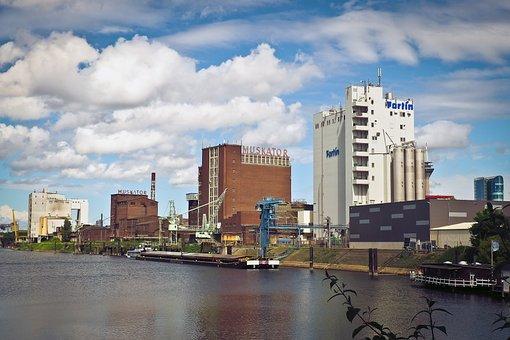 Hafen, Fabriken, Fabrik, Alte Fabrik