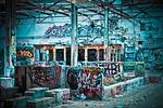 utracone miejsca, fabryka, stary
