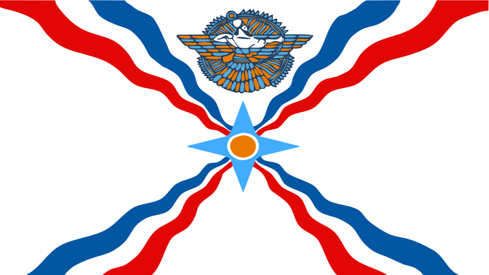 Free illustration: Assyrian, Assyrian Flag, Flag - Free Image on ...