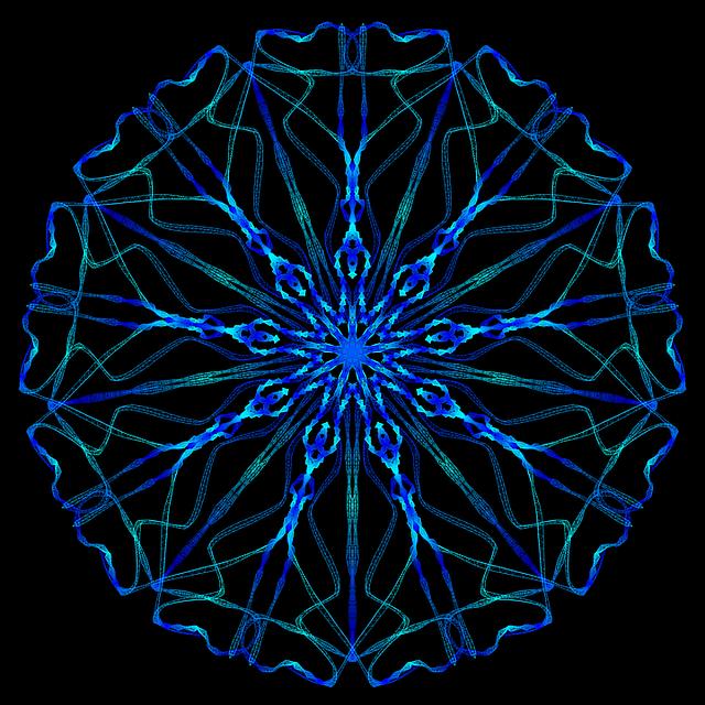 mandala psychedelic neon 183 free image on pixabay