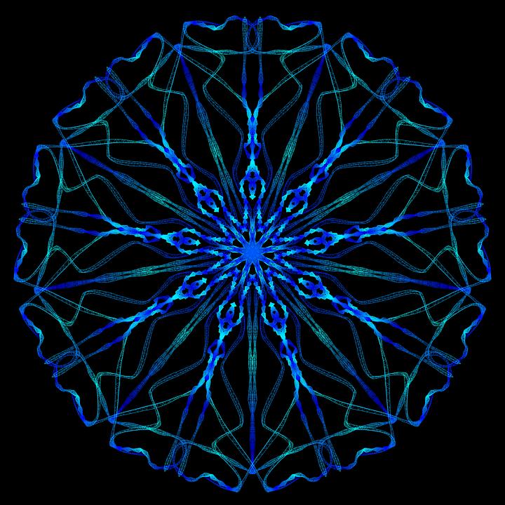 mandala psychedelic neon  u00b7 free image on pixabay