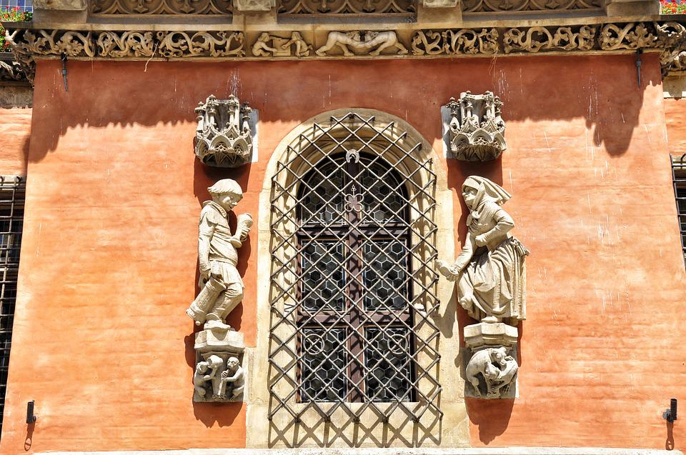 Jendela, Kamienica, Monumen, Bangunan, Façade