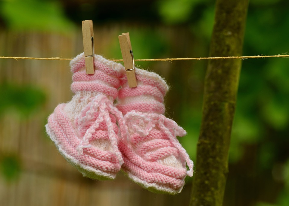 Baby girl greeting free photo on pixabay baby girl greeting birth baby shoes knitted gift m4hsunfo