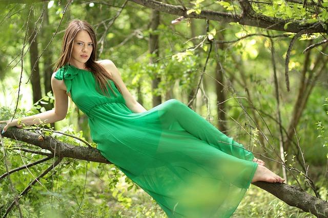 Girl Dress Green  Free Photo On Pixabay-8094