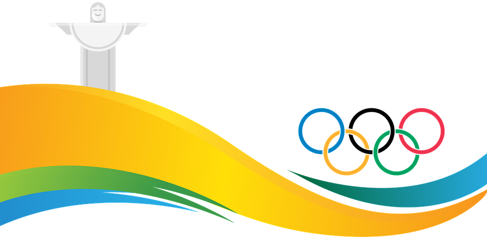 free vector graphic banner  rio  2016  olympiad  brazil olympic rings clip art black and white olympic rings clip art free black and white