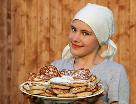 Pancakes, Cook, Cakes, Hash Browns