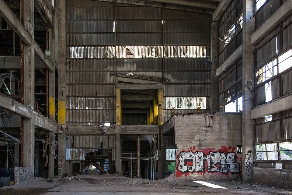 Free Photo Graffiti Abandoned Factory Free Image On