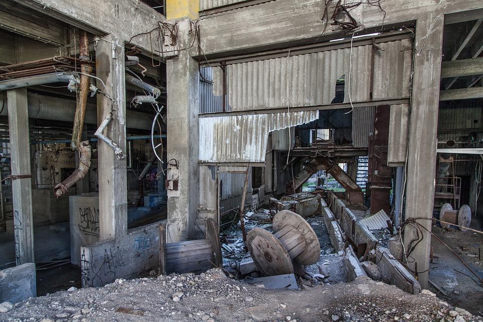 Abandoned Factory · Free photo on Pixabay  Abandoned Facto...