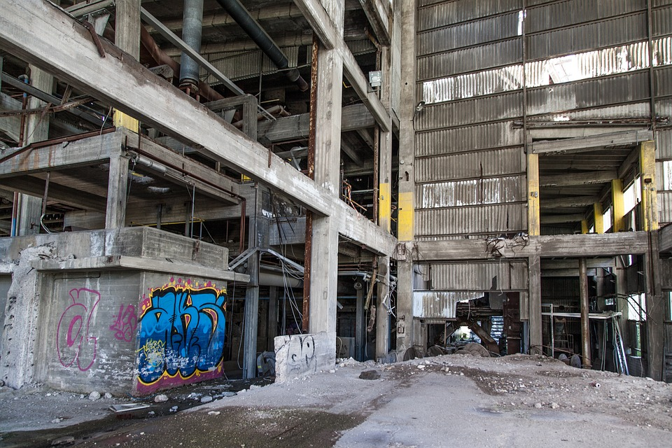Free Photo Graffiti Abandoned Factory Free Image On