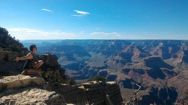 Grand Canyon, Nature, Feminine, Divine