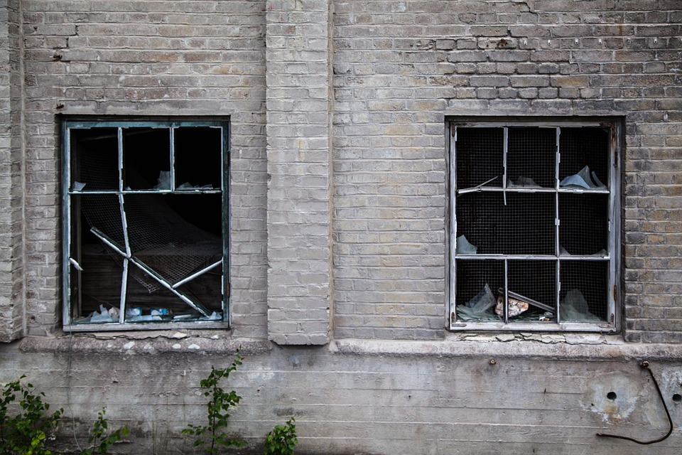Broken Windows Destruction Factory 183 Free Photo On Pixabay
