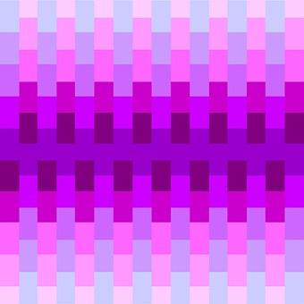 Geometric, Cubes, Pink, Purple, Blue