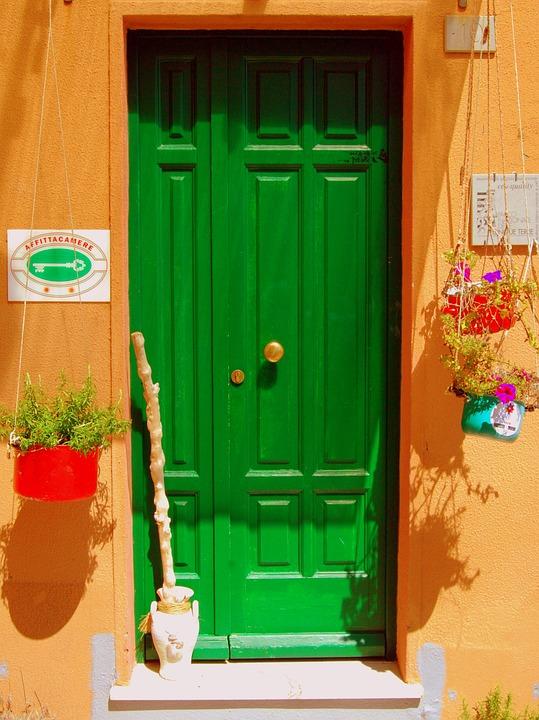 Порт, Секция, Зелено, Наемодател, Цветя, Цветове, Цвят