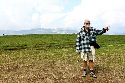 年金受給者, ルーマニア, 休日, Transalpina, 山, 自由, 風景