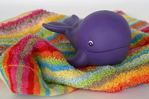Walfisch, Spielzeug, Wasser
