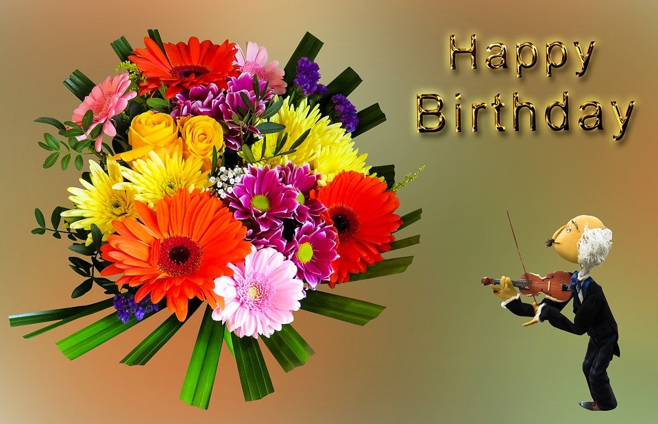 Preferenza Illustrazione gratis: Compleanno, Buon Compleanno - Immagine  WL84