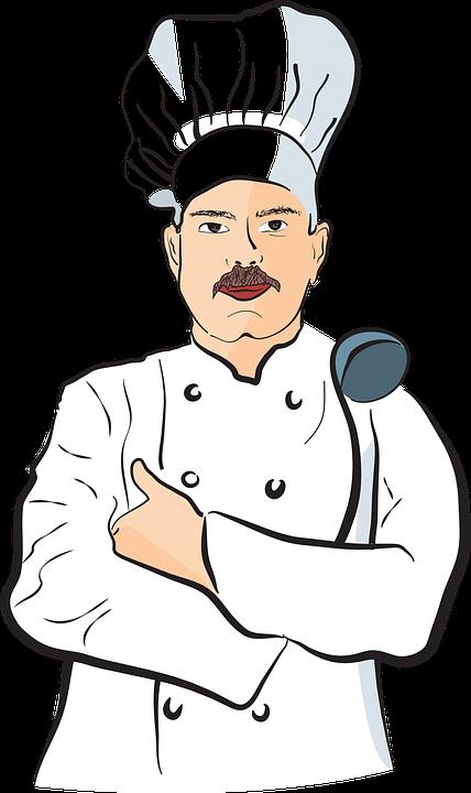 Laki Laki Chef Koki Pria Gambar Vektor Gratis Di Pixabay