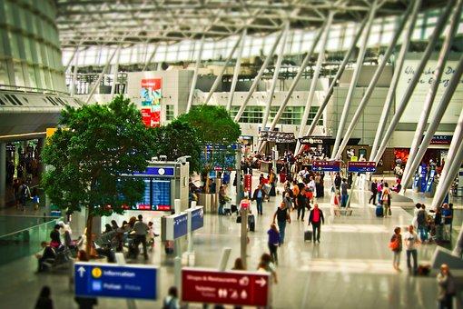 Aeroporto, Terminal, Vôo, Aviação