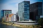 architektura, media harbour, düsseldorf