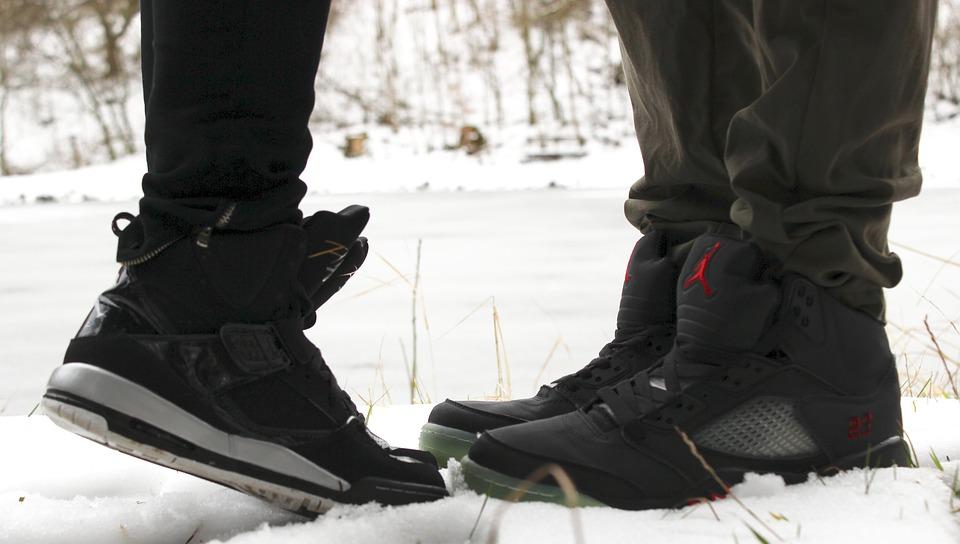 Обувь, Ноги, Пара, Поцелуй, Любовь, Вместе, Зимой