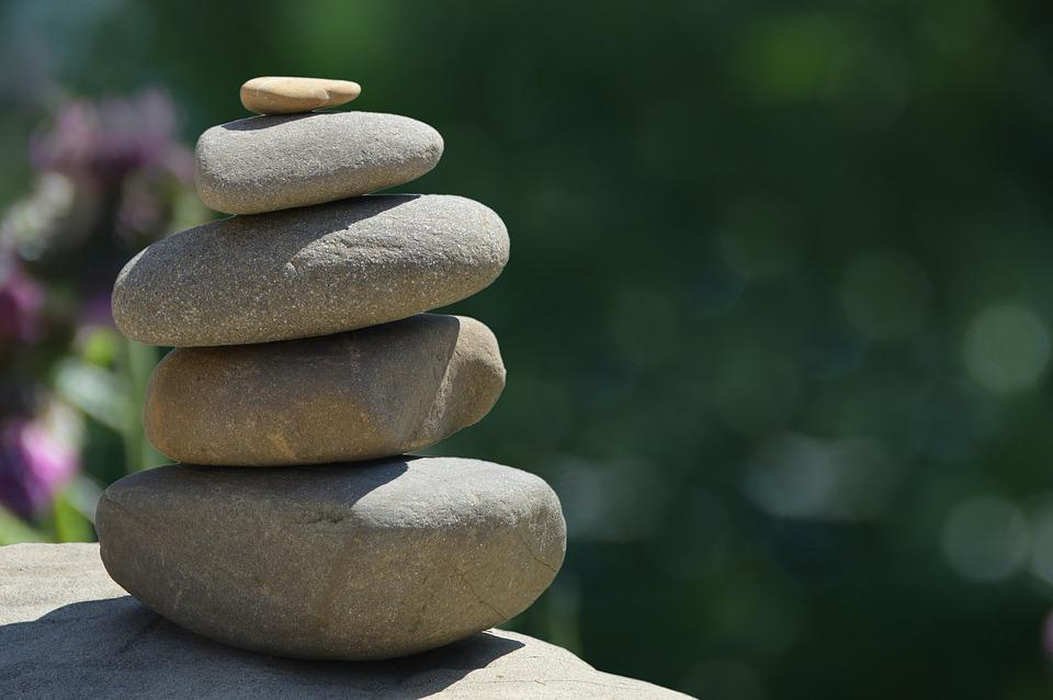 feng shui pierres