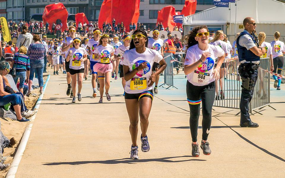 Runners Running Jogging Nice - Free