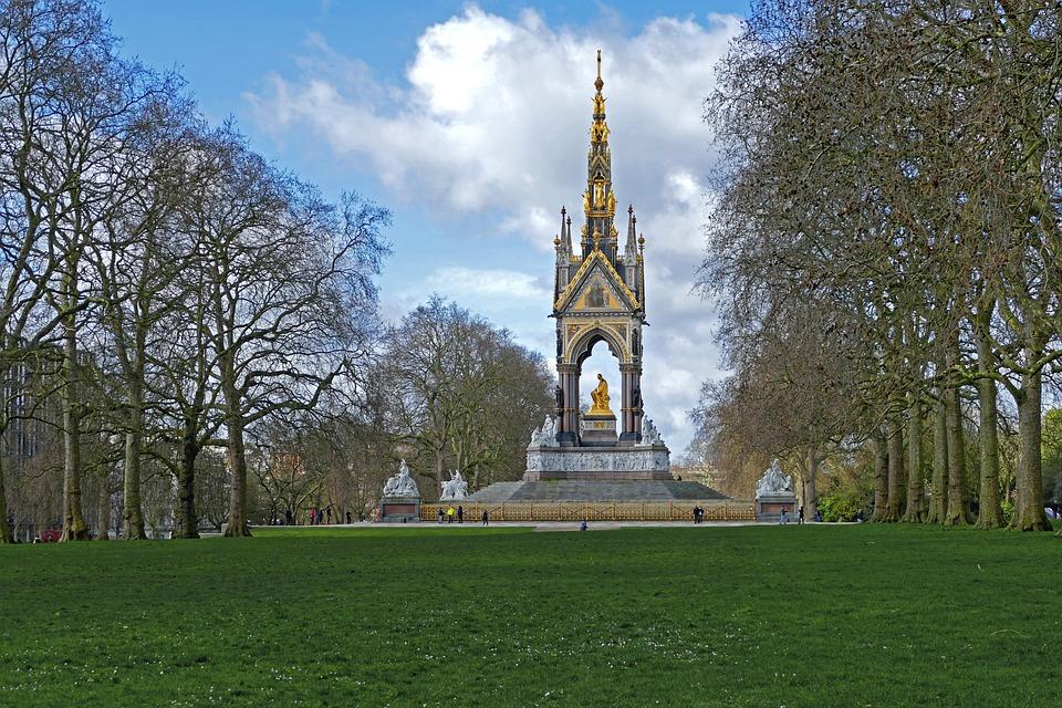 Londres, Hyde Park, Prince Albert Memorial, Angleterre