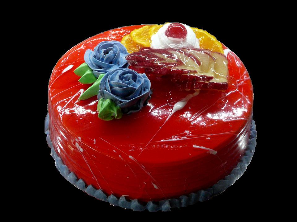 Cremetorte Rote Torte Glasur Kostenloses Foto Auf Pixabay