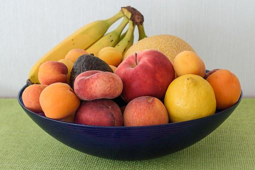 Obstschale, Obstkorb, Obst, Vitamine
