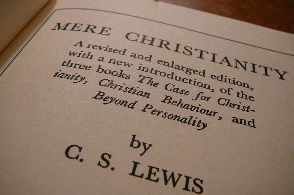 Mere Christianity, Cs Lewis, Autor, Buch, Seiten