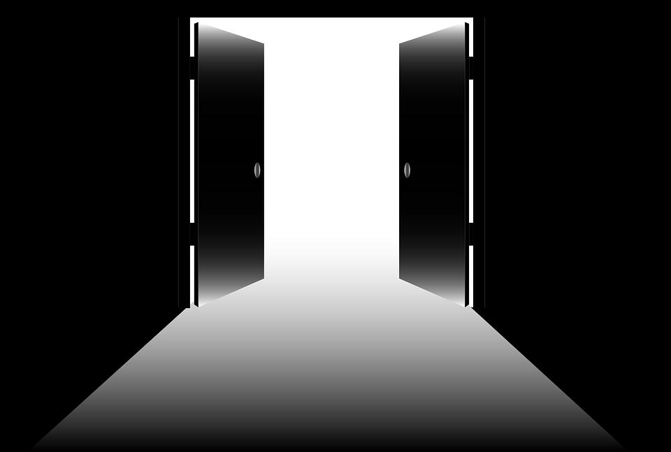 Offene tür  Kostenlose Vektorgrafik: Offene Türen, Offen, Ausfahrt ...