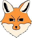 fox, head, animal