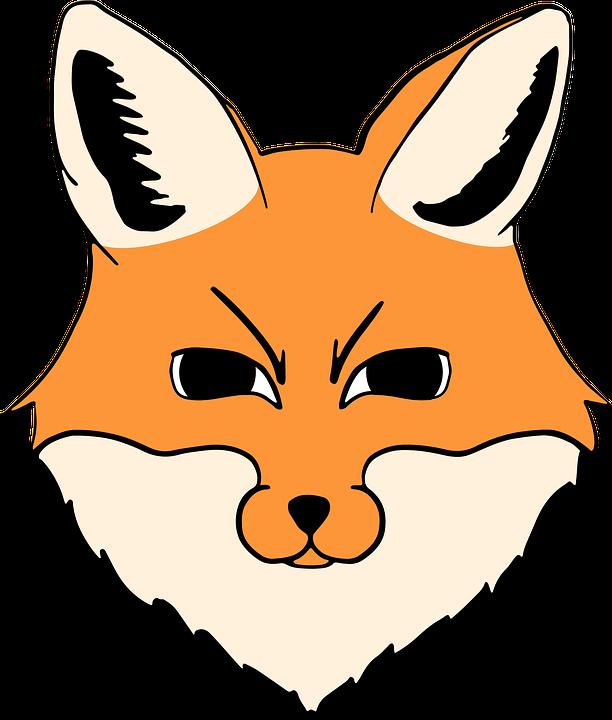 Fox Head Animal Free Vector Graphic On Pixabay