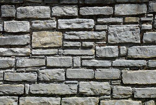 Texture, Masonry, Stones, Old Brick Wall