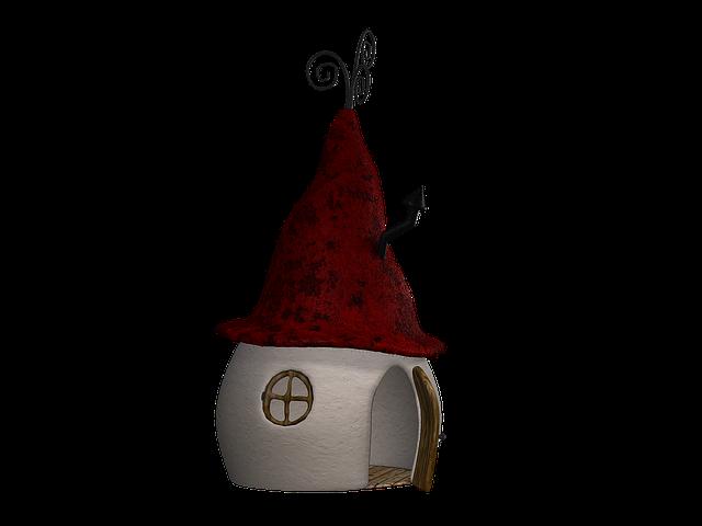 Free Illustration Home Hut Fantasy Fairy Tales Free