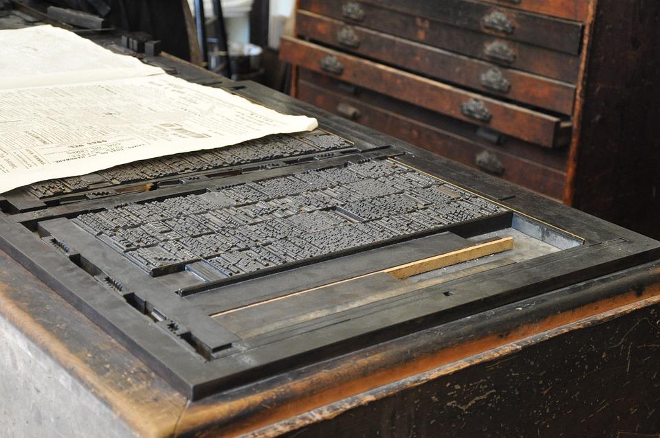 Old Print Press Printing - Free photo on Pixabay